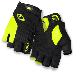 Giro Strade Dure Supergel Gants, black/highlight yellow
